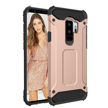 Hybrid Armor Case For Samsung Galaxy S9 Plus TPU Bumper Hard PC Back 360 Degree Full Protection Shockproof Shell