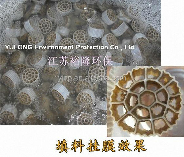 2015 Hot sales/ 10*10/ Mbbr bio filter media/Plastic filter media bio ball