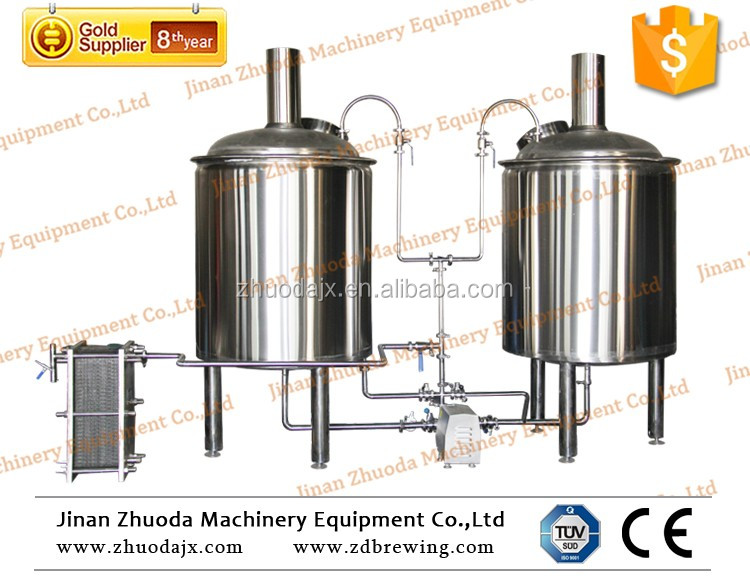 Micro Beer Brewing Equipment beer machine for pub brewing,beer making machine at home