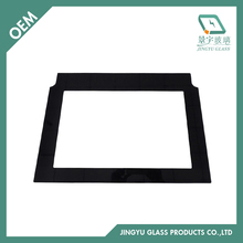 High quality polished edge tempered glass for oven door