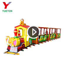 Amusement Park Carnival Rides Steam Shopping Kiddy Mini Electric Mall Track Train