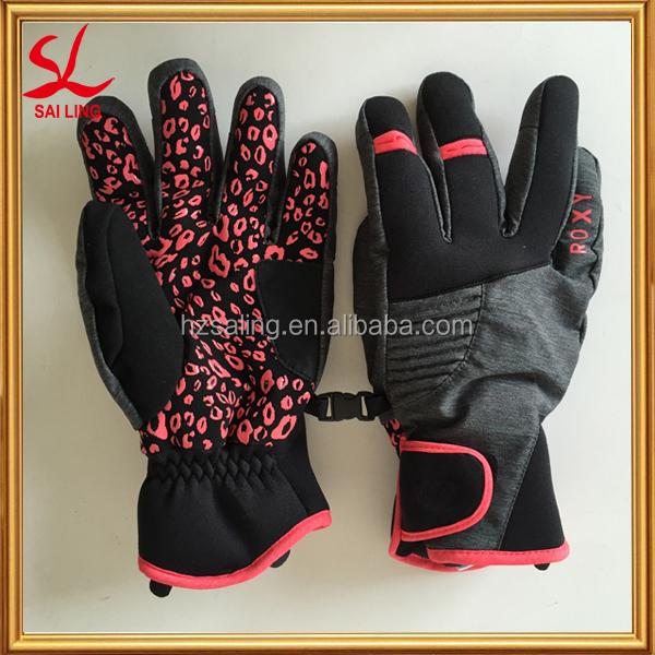 Very Warm Women's Gloves Fleece Lined Snowboard Gloves For Korea