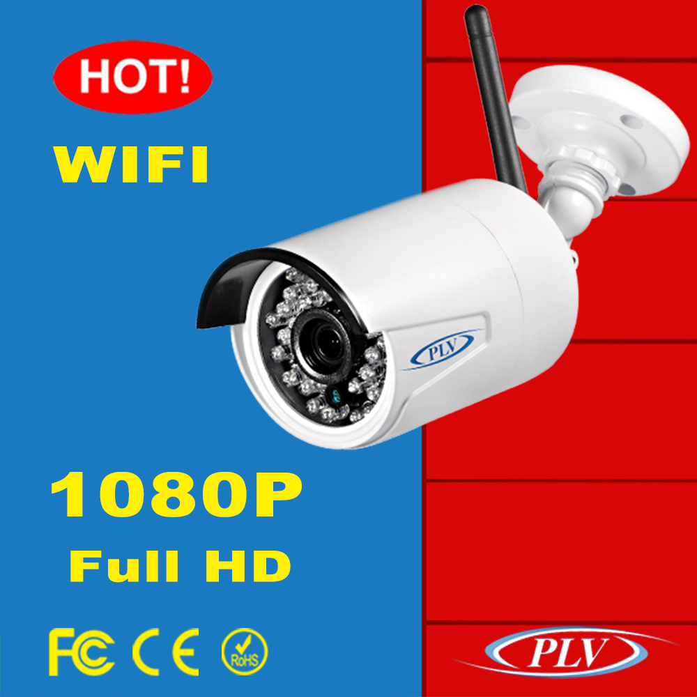 ip66 ir color icloud wireless ip surveillance 1080P bullet outdoor wifi camera audio input output
