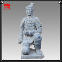 130cm Life Size Kneeling Chinese Figurine