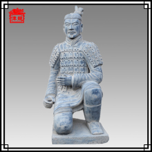 130cm life size kneeling Chinese figurine terracotta warrior statues for sale YDN190-4