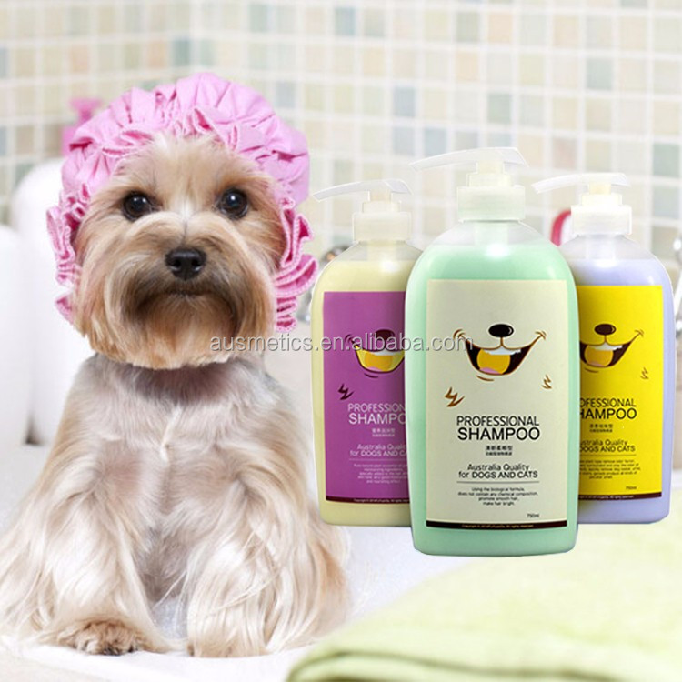 Private label multiple effects pet dog bath shampoo disinfect deep cleansing dog shampoo