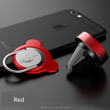 New arrival phone accessory 360 degree rotating stand metal finger cell phone ring holder for iphone 7