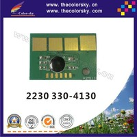 (TY-D2230) compatible reset laser printer toner chip chipset for Dell 2230 330-4130 3304130 bk (3.5k pages)