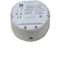 30w round shape led driver 12VDC 2400ma dimmable led Power Supply constant current