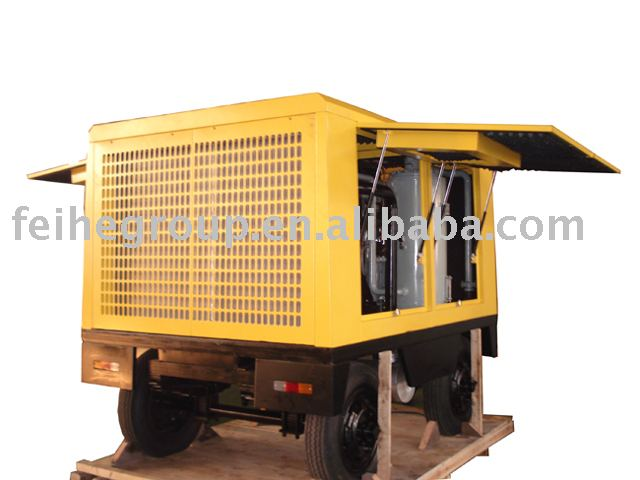 China distributor reasonable structure advanced screw air compressors