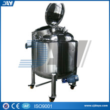 600L liquid soap mixing machine Electric heating stainless steel agitator mixing tank machine CE certificate
