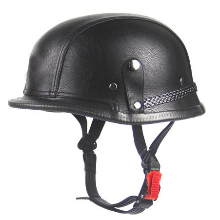 <strong>Motorcycle</strong> Helmet Vintage Black Metal Spikes