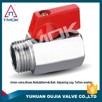 brass ball valve with lock device thread connection 1/4 brass quick connects hydraulic hoses and connections cylinder boring