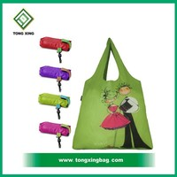 Custom Foldable nylon tote bag