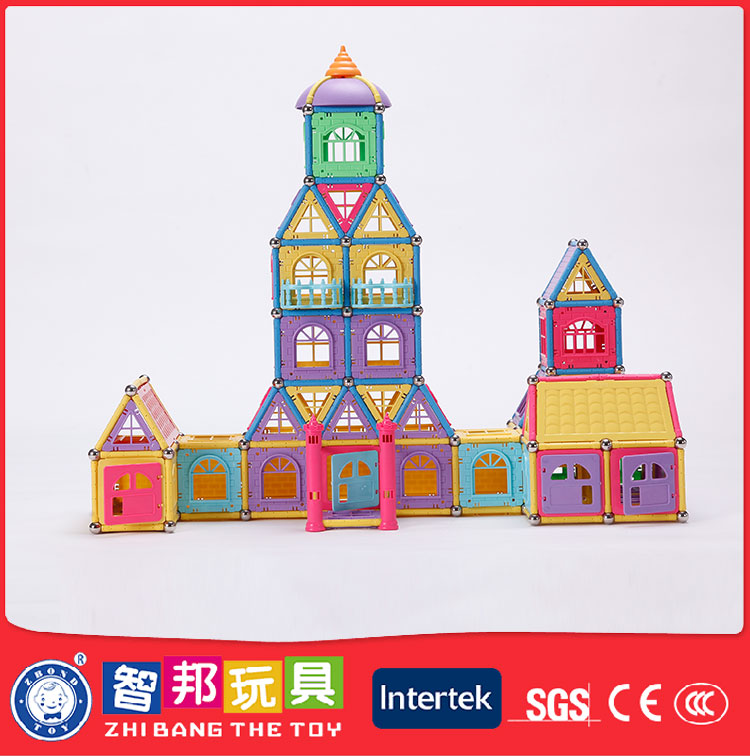 Promotional Preschool Children Building Rod Toys,Magnetic Ball Rod Toys