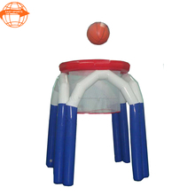 Factory price giant inflatable water basketball hoop for shooting