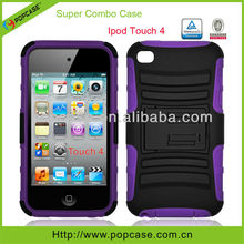 hybrid defender mobile phone case for ipod touch 4