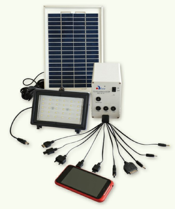 5W Solar power system 12V DC input/Instruments Of Solar System
