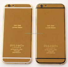 New 24Kt Gold Housing Rear Replace Battery Chassis Back Cover for iphone6 6SPlus