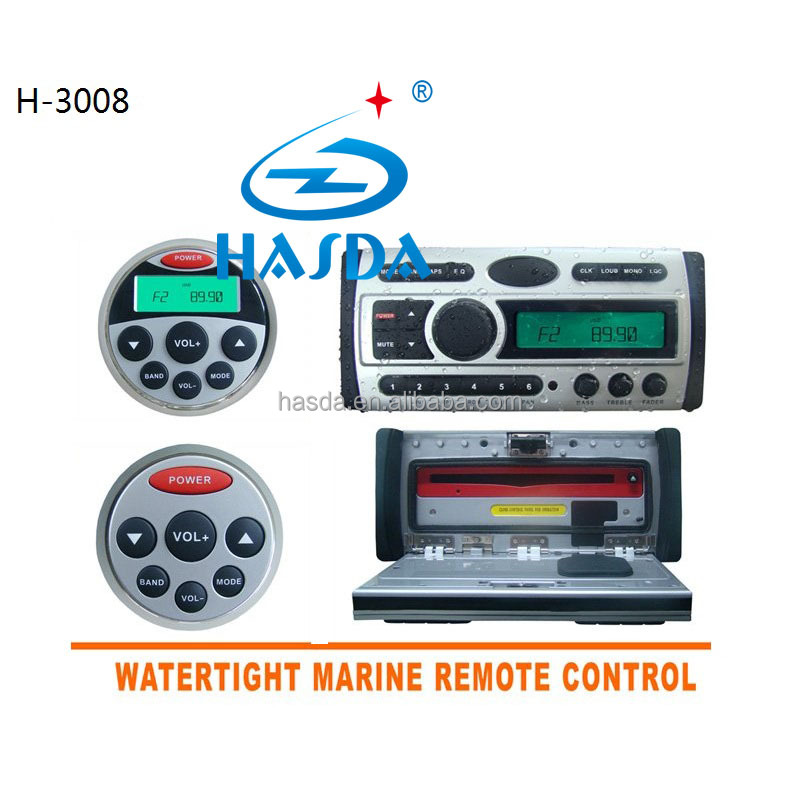 Waterproof outdoor marine car dvd player with LED screen,radio,usb,marine dvd,using in the sauna room,marine boat,outdoor