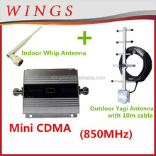 mini CDMA booster cell phone signal amplifier 850MHz gps signal repeater wifi booster