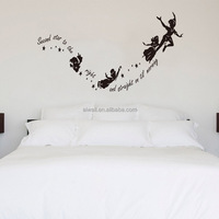 8227 Art Characters Be Thankful Wall Stickers Quotes For Living Room DIY Home Decorations Wall Decals