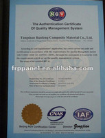 ISO 9001:2008 Fiberglass Sheets Made in China