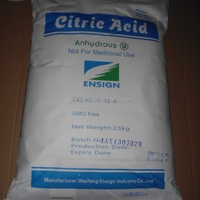 High Quality Citric Acid Anhydrous Food