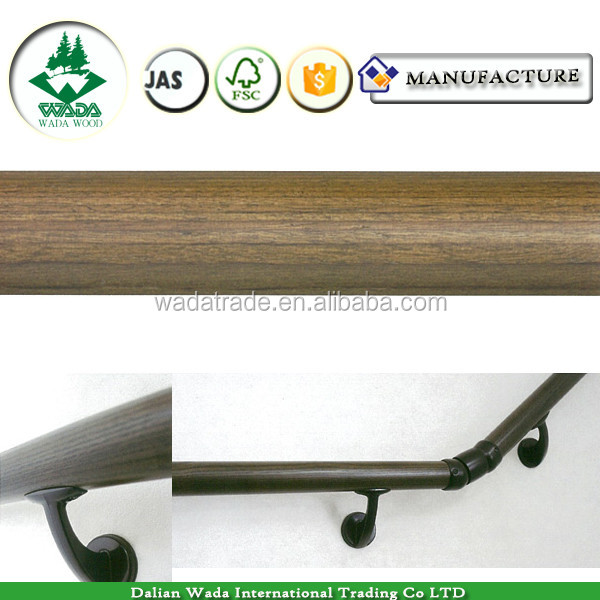Wada solid wood banister rail