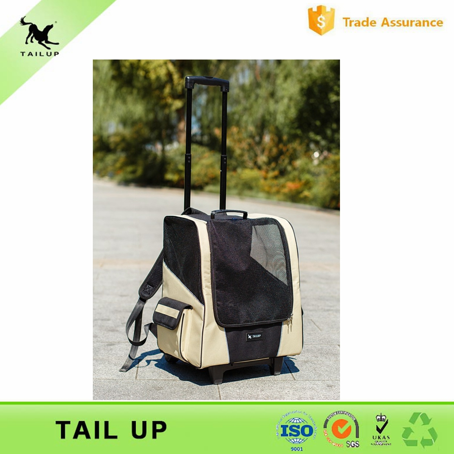 Cheap Wholesale Dog 2-Wheel Walk Jogger Outdoor Pet Carrier Backpack