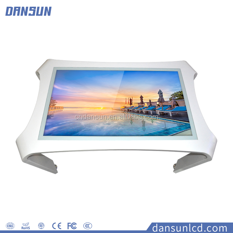 Top Sell Multi Self Service Touch Screen Table Kiosk