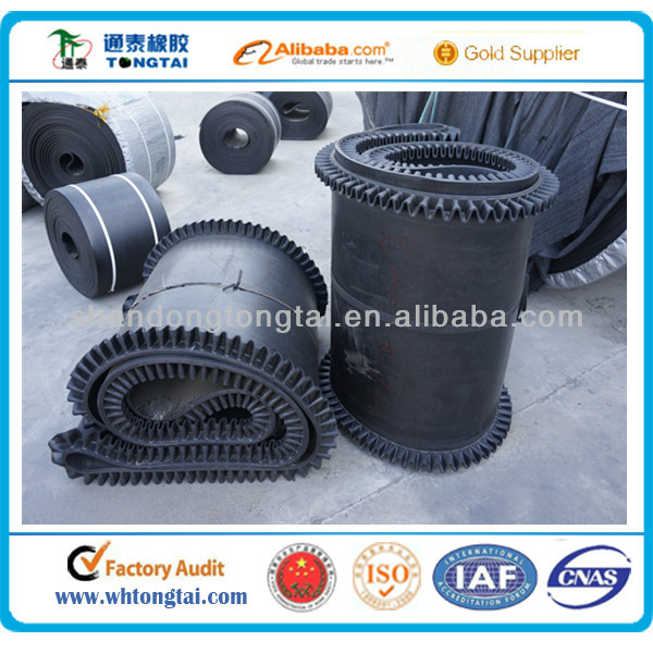 high quality and competitive price endless no conveyor belt joint mineral or cement use circular rubber conveyor belt