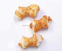 wholesale chicken wrapped rawhide bones dog pet chew