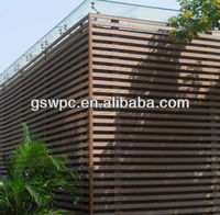High-tech wooden-plastic material wpc wall decking board wpc flooring panel