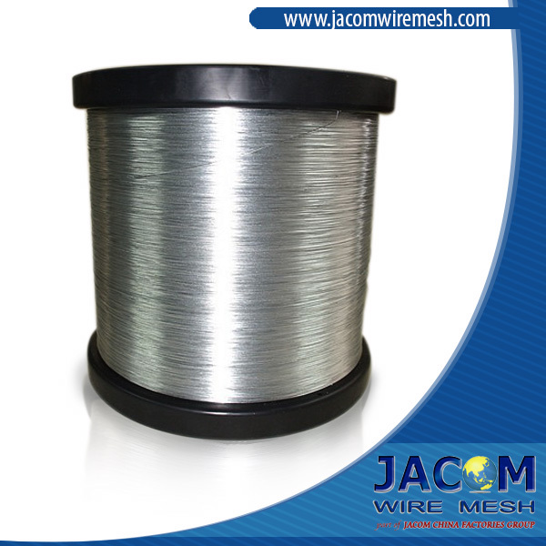 quality AISI 1006, 1070, Galvanized iron wire, 45 gr/m2 Zinc Level. (really factory)