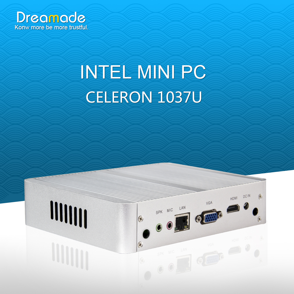 2016 hot selling Intel Celeron 1037U mini pc j1900