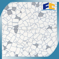 White and Grey Color Vinyl Anti-Static Flooring Tile for HEALTH CARE FACILITIES