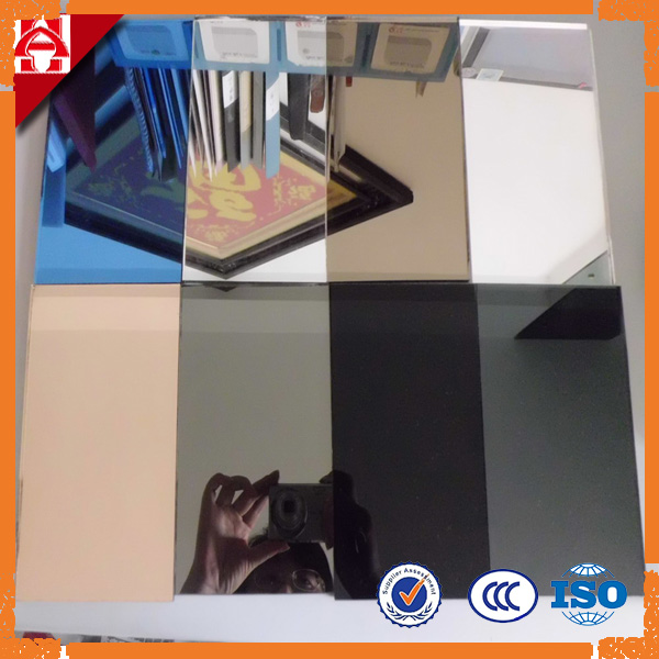 Decorative Tinted Silver Mirror Glass