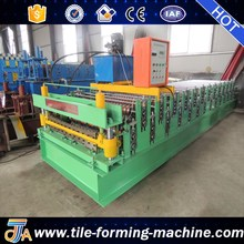 double layer roof shingles making machine bello lin
