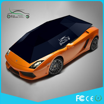 2017 Melody new model Automatic car shade with remote control