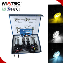 Best light effect universal car part 35/55/75W 3000/6000/8000K HID headlight bi-xenon kit h7 h4 9005(HB3) 9006(HB4)h4 led canbus