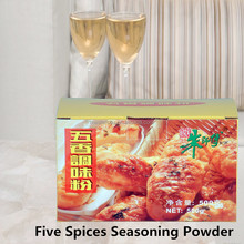 Healthy Food Five Spices Seasoning Powder Pepper Powder for baking product 500g