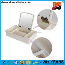 White Multifunctional Large Jewelry Organizer Box For Wholesale And Custom Made
