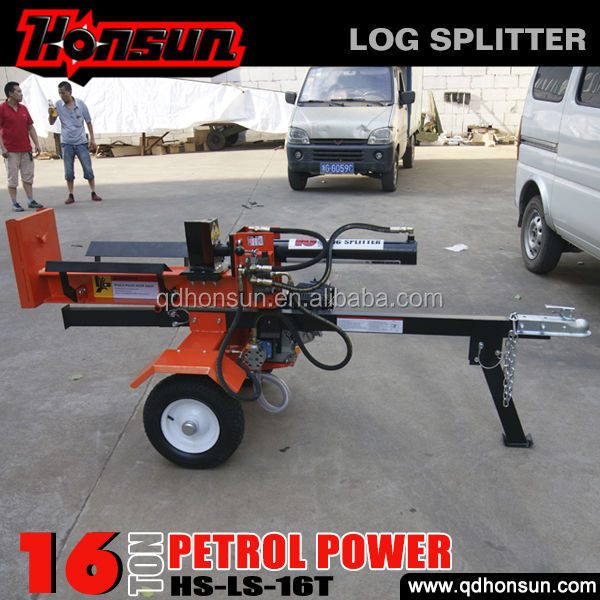 American standard Honda GX200, B&S I/C, B&S Vanguard 200cc 4 stroke 16tonne log splitter with engine