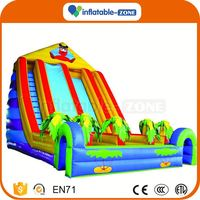 Factory cheap the riptide giant inflatable slide funny kids inflatable water slide