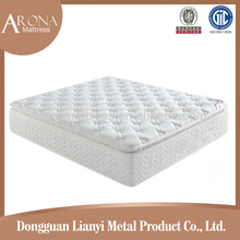 Hot Sale pillow top bamboo fabric bonnell spring mattress manufacturer
