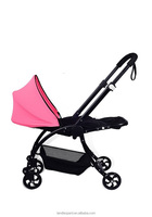 New style baby simple prams to comfort baby high hardness wide space pram for baby to sleep comfortable and have good sleep