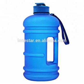 popular deep blue color 2.2liter 100% leak proof 200g stronger BPA FREE TRITAN GYM sport water bottle fitness bottle