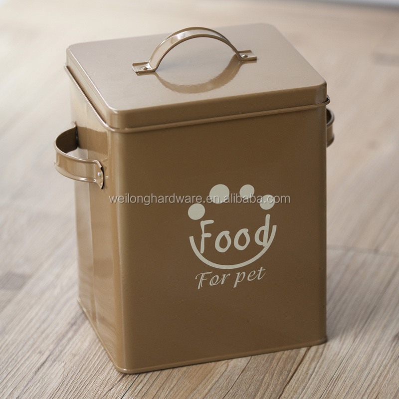 Pet Food Large Container Dog Cat Animal Storage Bin Dry Feed Seed 30L Containers
