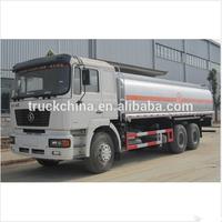 SHACMAN 290hp 20000L fuel tanker truck weight